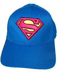 Baseball Cap - Superman - Logo Blue Active Hat New Anime Licensed bx209espm