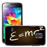 Hülle Case Schutzhülle Cover Premium Case // M00291969 Albert Einstein Physik Relativitäts // Samsung Galaxy S5 MINI SM-G800