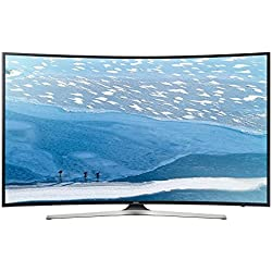 Samsung - Tv led curvo 49'' ue49ku6100 uhd 4k, 1400 hz pqi y smart tv