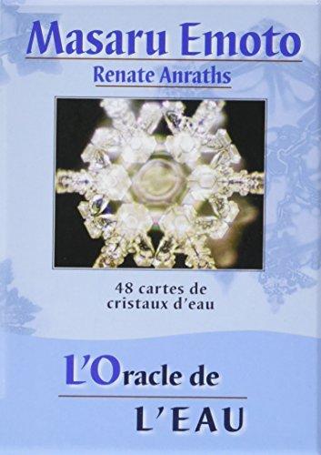 L'Oracle de l'eau : 48 cartes de cristaux d'eau par Masaru Emoto