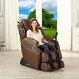 Massagesessel Holiday Fernsehsessel Entspannungssessel Relaxsessel Sessel (Braun)