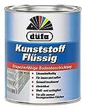 Düfa Kunststoff flüssig strapazierfähige Bodenbeschichtung Bodenfarbe Seidenmatt 750 ml, Farbe (RAL):RAL 6005 Moosgrün