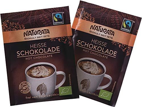 Naturata Bio Heiße Schokolade, Portionsbeutel (6 x 10 gr)