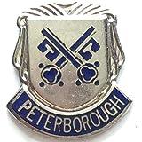Peterborough Smalto Distintivo Di Lapel Pin
