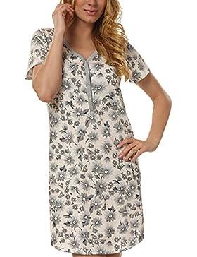 Italian Fashion IF Premaman Camicia da notte per donna Miray 0114