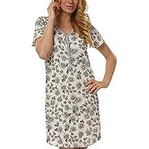 Italian Fashion IF Premamá Camisón para mujer Miray 0114