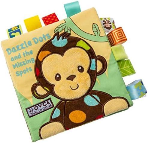 RaHommes g- Livre d'éveil Tissu, Livre en Tissu pour Bébé Singe Animal Éducation Jouets | Supérieurs Performances