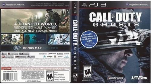 Call of Duty: Ghosts PS3 New PlayStation 3, Playstation (Inflatable Ghost)