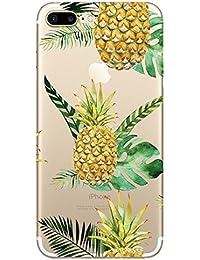 Coque iPhone 7 Coque Pacyer® Transparente Cute Motif Premium TPU Souple Etui de Protection [absorbant les chocs] [Ultra mince] [Anti-rayures] pour iPhone 7 4,7 pouces