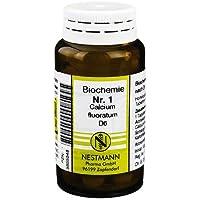 BIOCHEMIE 1 Calcium fluoratum D 6 Tabletten 100 St Tabletten preisvergleich bei billige-tabletten.eu