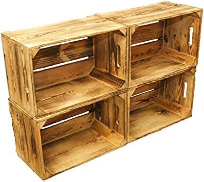 kistenkolli altes land cajas de frutas unidades flambeado madera