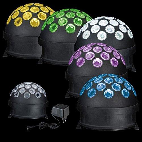 TIP Disco 3297 LED Light Globe Kugel 4W RGB Schwarz Motor Multicolor E14