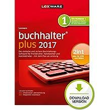 Lexware buchhalter 2017 plus-Version PC Download (Jahreslizenz) / Einfache Buchhaltungs-Software für Freiberufler, Handwerker, Kleinunternehmen & Vereine / Kompatibel mit Windows 7 oder aktueller