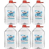 VECARO Destilliertes Wasser 30 Liter 6 Kanister zu je 5 Liter