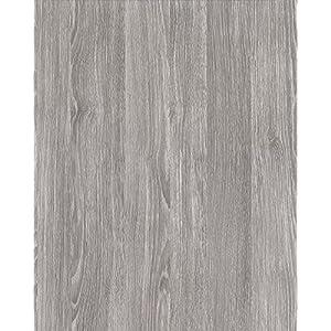 alkor DecoDesign F3800101 Selbstklebefolie, Folienmaß 45 x 200 cm, Dicke 0, 11 mm, Grau