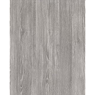 Alkor Sticky Back Plastic (self adhesive vinyl film) Woodgrain Oak Sheffield Pearly Grey 45cm x 2m 380-0101