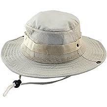 Beladla Gorra De Pescador Hombre Ciclismo Sombrero De La Pesca Gorra  Pescador Twill Cotton Bucket Hat 823f39d18d8
