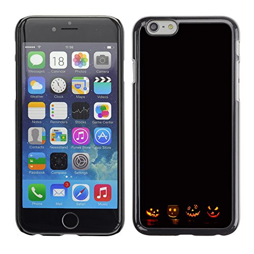 Graphic4You Halloween Allerheiligen Thema Kürbis Design Harte Hülle Case Tasche Schutzhülle für Apple iPhone 6 / 6S Design #5