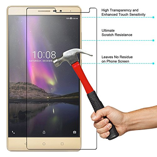 M ACCOCRIES WORLD Tempered Glass with Anti-Fingerprint Coating for Lenovo...