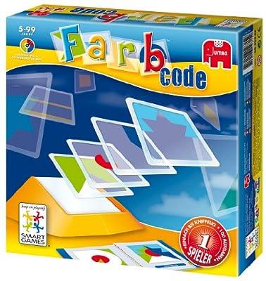 Jumbo Spiele 12815 Farb-Code - Juego de identificación de colores (contenido en alemán) por Jumbo