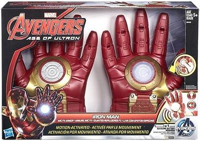 Marvel Avengers - Guantes electrónicos, diseño Iron Man (Hasbro B0429EU4)