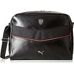 Puma Ferrari Ls, Bolsa con cordón, color Negro - negro, tamaño talla única