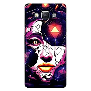 CrazyInk Premium 3D Back Cover for Samsung A5 2015 - Crystal Lady Art