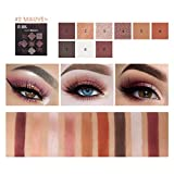 Berrose-9 Farben Perle Licht Matt Mischen Lidschatten Cosmetic Matte Eyeshadow Cream Makeup Palette Shimmer Set