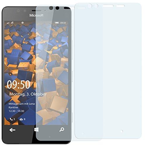 2 x mumbi Displayschutzfolie Microsoft Lumia 950 Schutzfolie