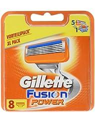 Gillette Fusion Power Rasierklingen für Männer, 8Stück