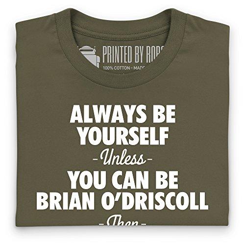 Be Brian O'Driscoll T-Shirt, Damen Olivgrn ...