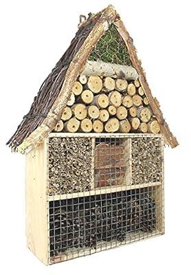 XL Insektenhotel Natur Insektenhaus Nist- und Überwinterungsplatz für nützliche Insekten von colourliving - Du und dein Garten