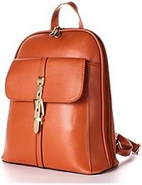 Ezeso Mochila de cuero de la PU Moda bolso de hombro Bolsa de viaje mochila para las niñas de las mujeres