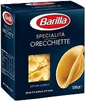 Barilla Pasta Orecchiette, Pasta Corta di Semola di Grano Duro, Specialità, 500 g