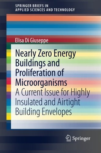 Nearly Zero Energy Buildings and Proliferation of Microorganisms: A Current Issue for Highly Insulated and Airtight Building Envelopes (SpringerBriefs in Applied Sciences and Technology) by Elisa Di Giuseppe (2013-11-07)