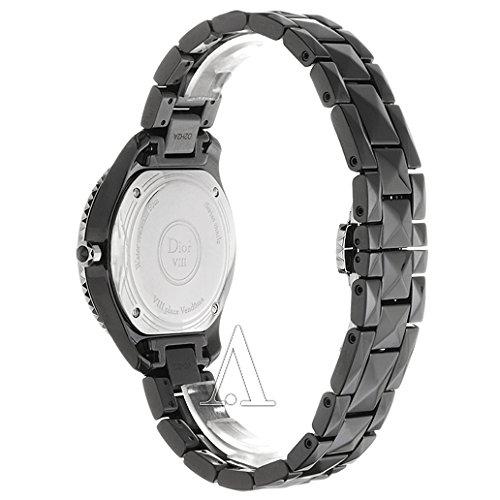 2bc24a91f6e3 ... Christian Dior Dior VIII CD1231E1 C001 cerámica y diamantes reloj de  cuarzo ...