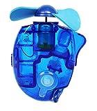 JoyRolly Ventilatori Estivi Mini Ventilatore Batteria Portatile Ventilatori Portatili (3 Colori) (Blu) Blue