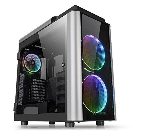 Thermaltake Level 20 GT RGB Plus Full Tower PC-Gehäuse, schwarz/silber -