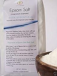 Green Junction Pure Epsom Salt (Bathing & Spa) , 500 g Pack