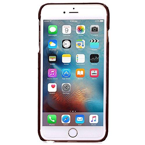 iPhone 6S Hülle,iPhone 6 Hülle,iPhone 6S Case,iPhone 6S Tasche Hardskin Schutzhülle,NSSTAR® Wallet Hülle Schutzhülle,Ultra Slim Fit PU Leder Wallet mit Standfunktion Kreditkarte Identifikation Halter  Braun