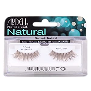 Ardell Professional Natural Lashes - Demi Wispies Brown # 65013