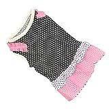 Loveso-Haustier Kleider Bekleidung Mode-Hündchen-Prinzessin-Kleid Hund Dot Rock-Haustier-Hundekleid (S, A)
