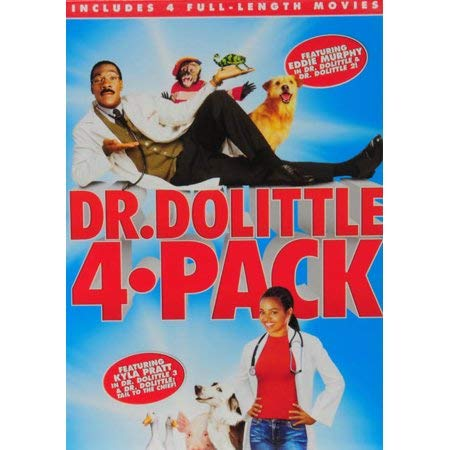 Dr. Dolittle: 4-Movie Collection [DVD]
