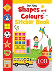 My First Shapes and Colours Sticker Book Exciting Sticker B