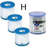 4 Cartouches de Filtration Intex pour filtre piscine - Intex...