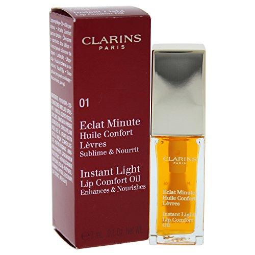 CLARINS Glanz Minute ÖL Komfort Lippen, #01-hönig, 1er Pack  ( 1 x 7 ml )