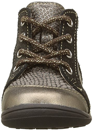Catimini Mouette, Chaussures Premiers Pas Bébé Fille Or (11 Vtc Bronze/Noir Dpf/Gluck)