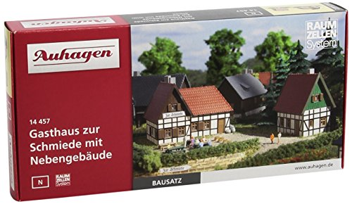 Auhagen - Edificio ferroviario de modelismo ferroviario escala 1:600 (14457)