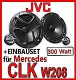Mercedes CLK W208-16cm 2-Wege Lautsprecher vorne - JVC CS-JS600 - Einbauset