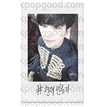 BTS bangtan Boys fanpage at Blood Sweat & Tears MV Suga Polaroid photocard